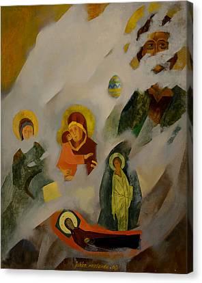 Veiled Canvas Print by Jukka Nopsanen