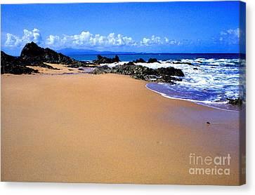 Veiques Beach Canvas Print by Thomas R Fletcher