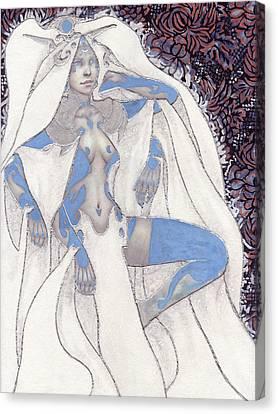 Vela Canvas Print