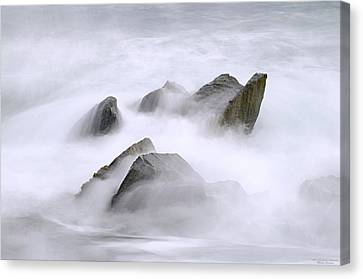 Velvet Surf Canvas Print by Marty Saccone