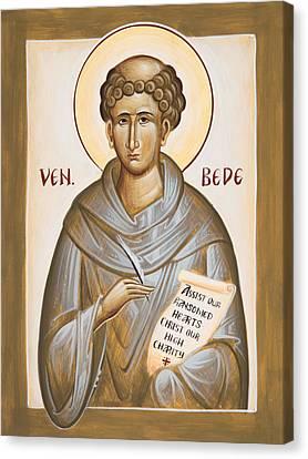 Venerable Bede Canvas Print by Julia Bridget Hayes