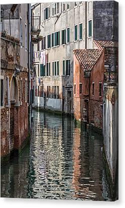 Venetian Building Canvas Print