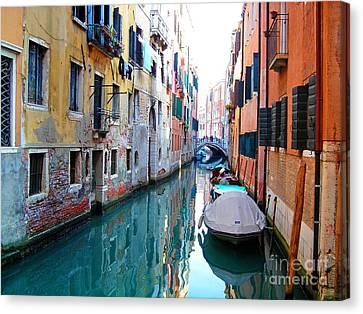 Venetian Calm Canvas Print