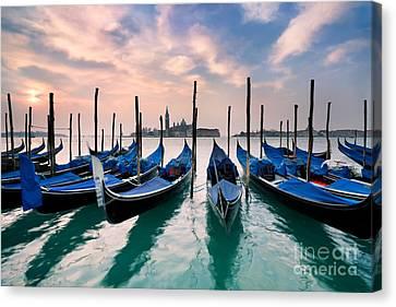 Venetian Dawn  Canvas Print by Rod McLean