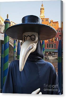 Venetian Face Mask G Canvas Print by Heiko Koehrer-Wagner