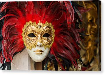 Venetian Mask Canvas Print by Hans Engbers