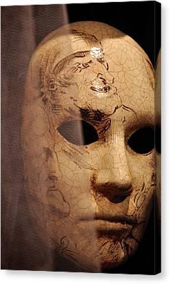 Venetian Mask Canvas Print by Matt MacMillan
