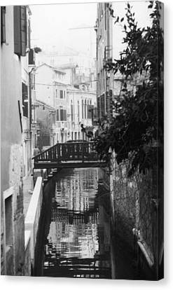 Venetian Reflections Canvas Print by Dorothy Berry-Lound