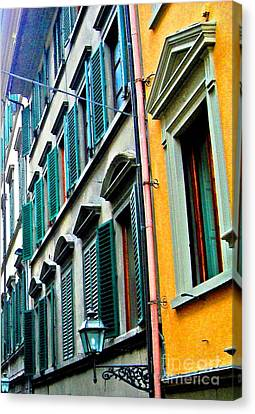 Venetian Shutters Canvas Print by Phillip Allen