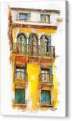Radiant Abode Canvas Print by Greg Collins