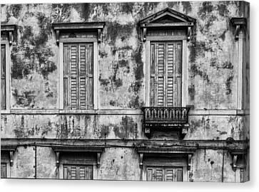 Venetian Windows Canvas Print