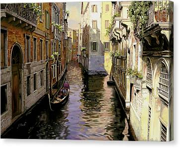 Venezia Chiara Canvas Print by Guido Borelli