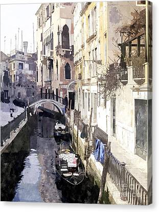 Venice 1 Canvas Print by Julie Woodhouse