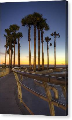 Canvas Print featuring the photograph Venice Beach by Brent Durken