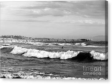Venice Beach Waves IIi Canvas Print by John Rizzuto