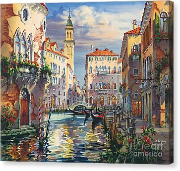 Venice Before Sunset Canvas Print