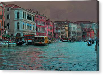 Venice Before The Storm Canvas Print by Don Wolf
