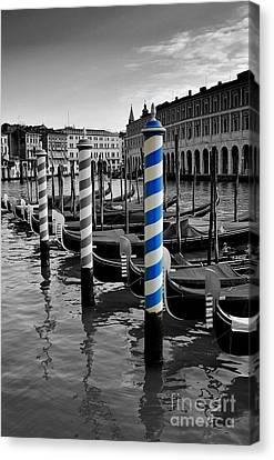 Venice Blue Canvas Print by Henry Kowalski