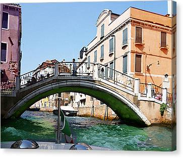 Venice Bridge Canvas Print