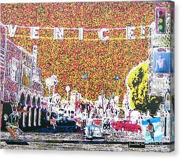 Venice California Canvas Print