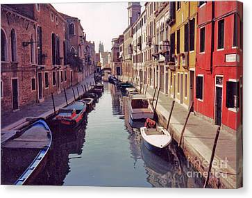 Venice Canal Canvas Print by Rita Brown
