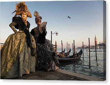 Venice Carnival '15 IIi Canvas Print by Yuri Santin