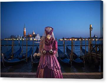 Venice Carnival '15 V Canvas Print by Yuri Santin