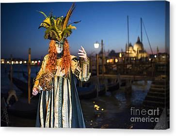 Venice Carnival '15 Vi Canvas Print by Yuri Santin