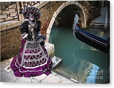 Venice Carnival '15 Vii Canvas Print by Yuri Santin