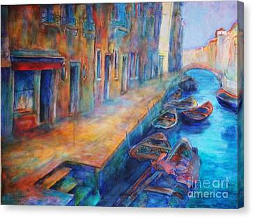 Venice Canvas Print by Dagmar Helbig