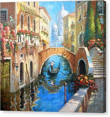 Venice Canvas Print by Dmitry Spiros