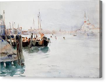 St. Marks Canvas Print - Venice by Elizabeth Nourse