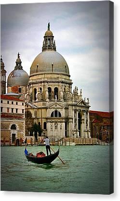 Venice Gondola Canvas Print by Henry Kowalski