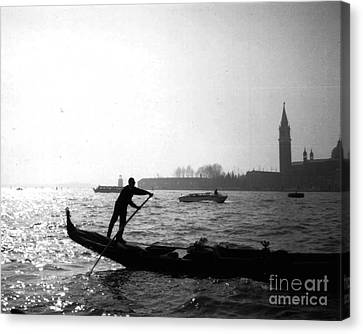 Venice Gondola Canvas Print by Rita Brown