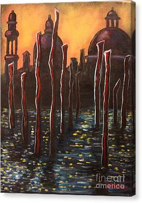 Venice Impressions Canvas Print
