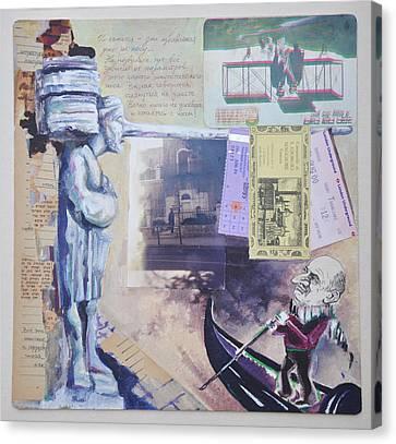Jerusalem Canvas Print - Venice In Jerusalem by Nekoda  Singer