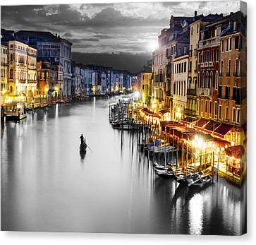 Venice Italy Canvas Print by Brian Reaves