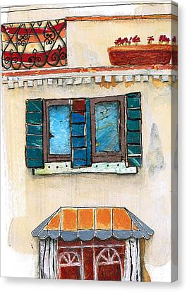 Venice Italy Building Canvas Print by Robin Luther