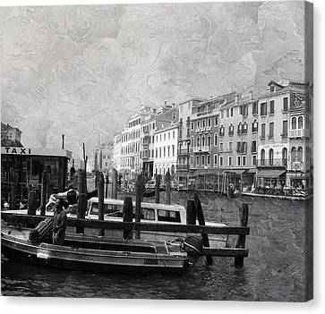Venice Italy Cool Breeze Canvas Print by Brian Reaves