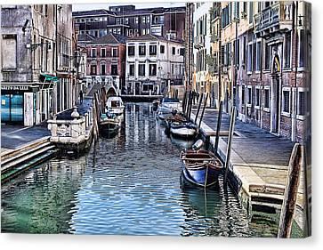 Venice Italy Iv Canvas Print by Tom Prendergast