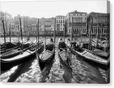 Historic House Canvas Print - Venice - Italy by Joana Kruse