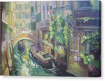 Venice -italy Canvas Print by Paul Weerasekera