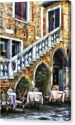 Venice Italy - Romance Canvas Print