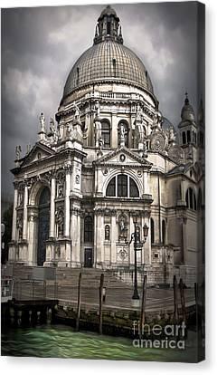 Venice Italy - Santa Maria Della Salute Canvas Print by Gregory Dyer