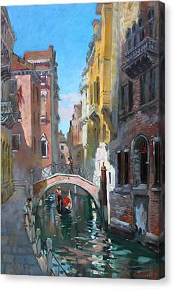 Venice Italy Canvas Print by Ylli Haruni