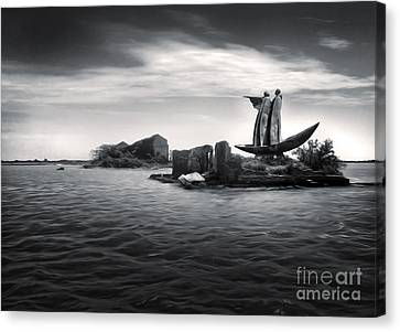 Venice Lagoon Canvas Print by Gregory Dyer