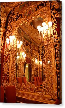 Venice Opera House - Mirrored History Canvas Print