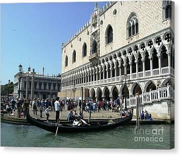 Venice Palazzo Ducale Canvas Print