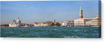 Venice Panoramic Canvas Print