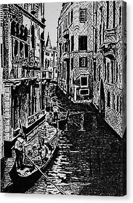 Venice Canvas Print by Patricio Lazen